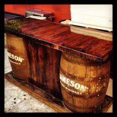 Jameson Barrel Bar